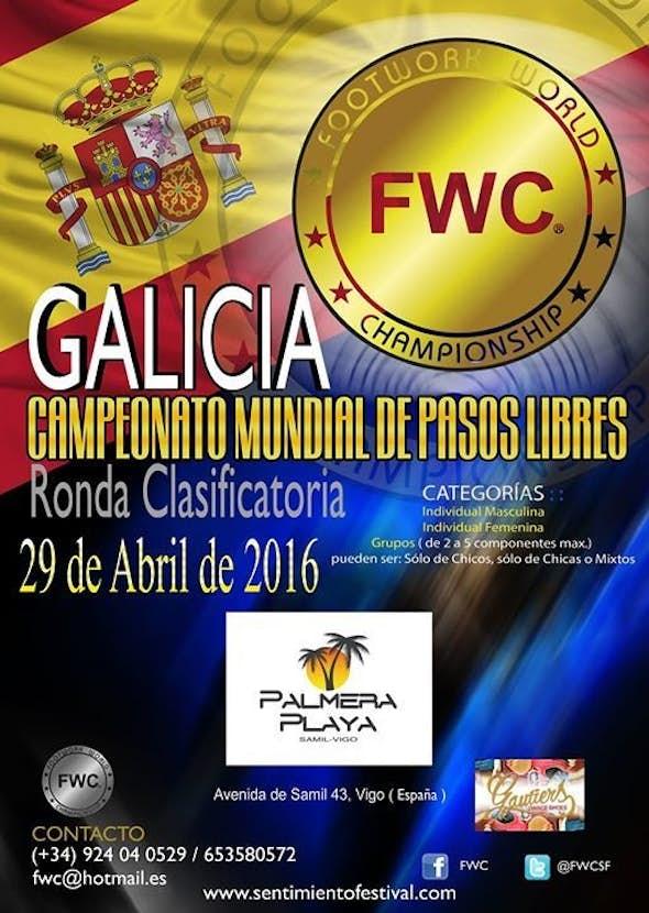 "Eliminatoria FWC ""GALICIA"" 29th of April 2016"