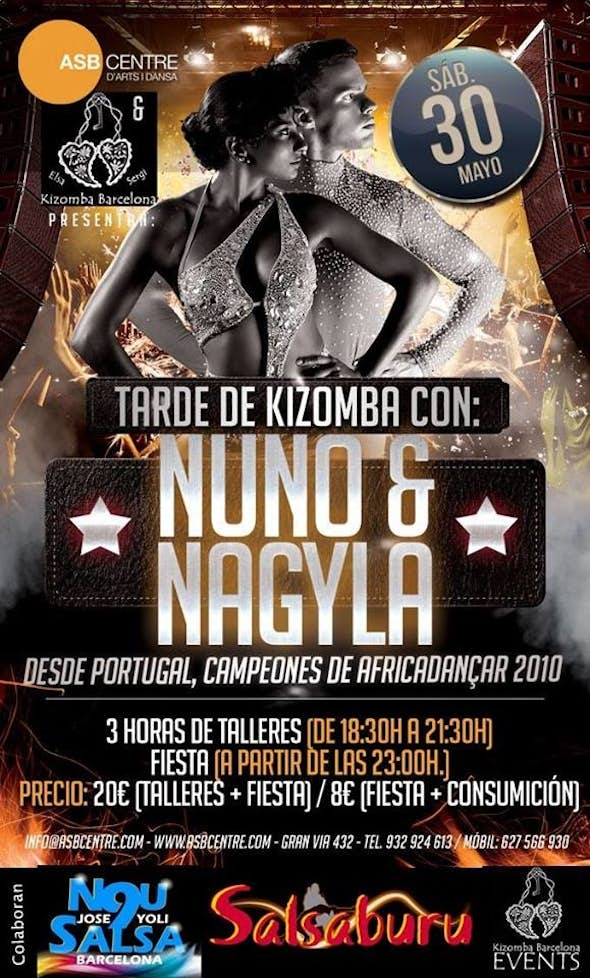 NUNO & NAGYLA - Kizomba VIP Party Barcelona