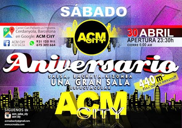 1er. ANIVERSARIO ACM CitY