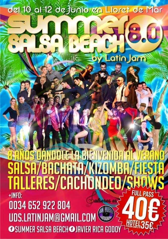 Summer Salsa Beach 8.0 2016 (8ª Edición)
