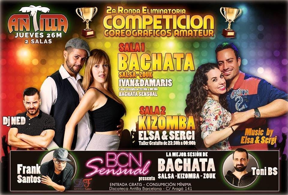 jueves bcn sensual en antilla salsa barcelona go dance