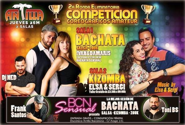 Thursday Bcn Sensual in Antilla Salsa Barcelona