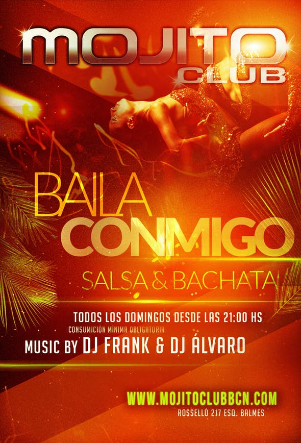 Salsa Sunday in Mojito Club Barcelona