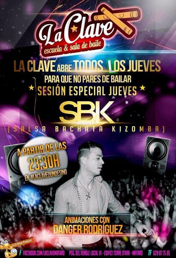 SBK sesión especial del Jueves en La Clave