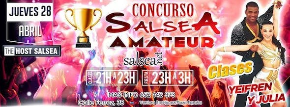 Jueves The Host Salsea y Concurso Salsea Amateur