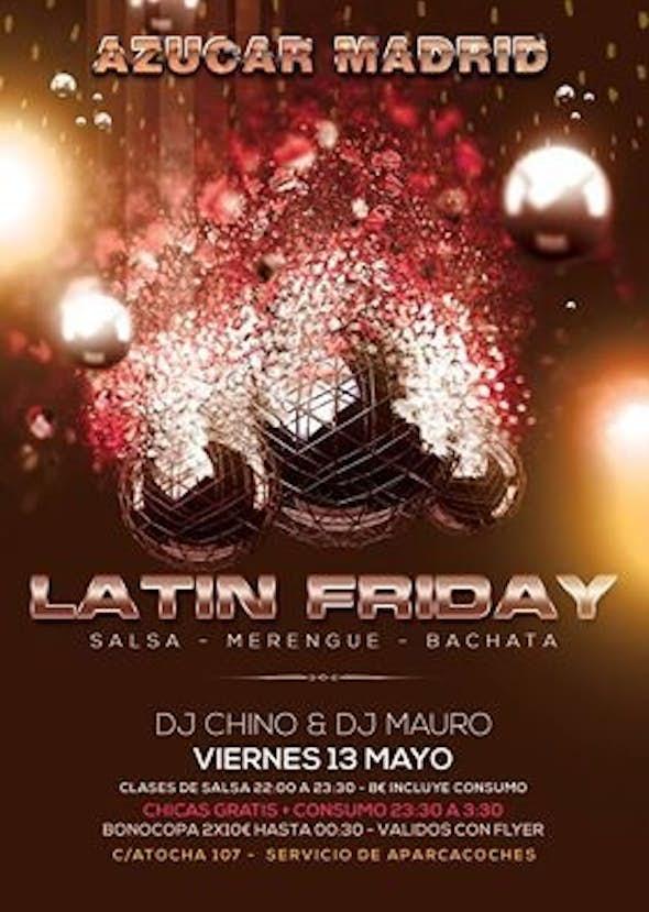 Latin Friday in Azúcar Madrid