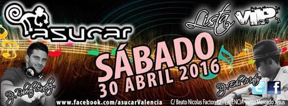 SATURDAY in Asucar Valencia