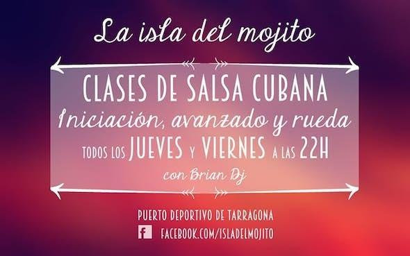Jueves clases de salsa gratuitas y fiesta en La Isla del Mojito
