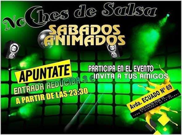 Salsaturday party in NoChes de Salsa