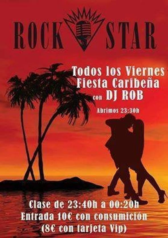 Caribbean Party with DJ. Rob in Rockstar Bilbao