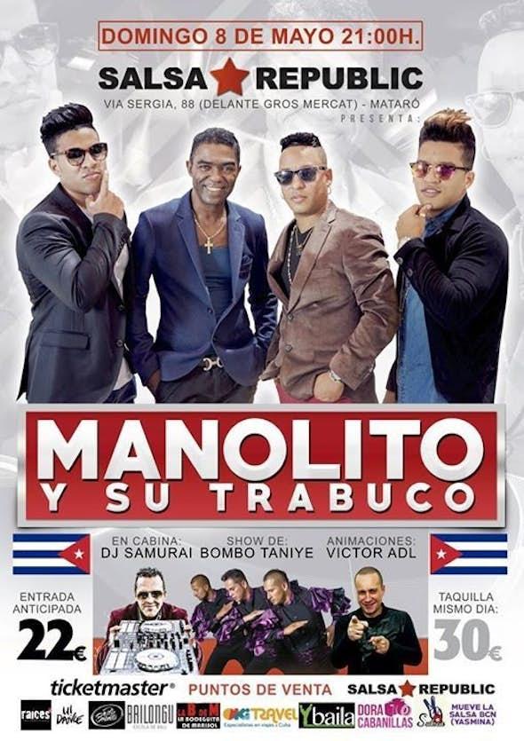 Manolito y su Trabuco live en Barcelona