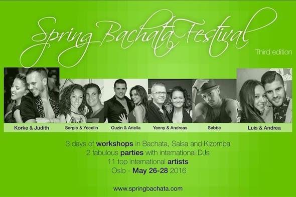 Spring Bachata Festival, edition 2016