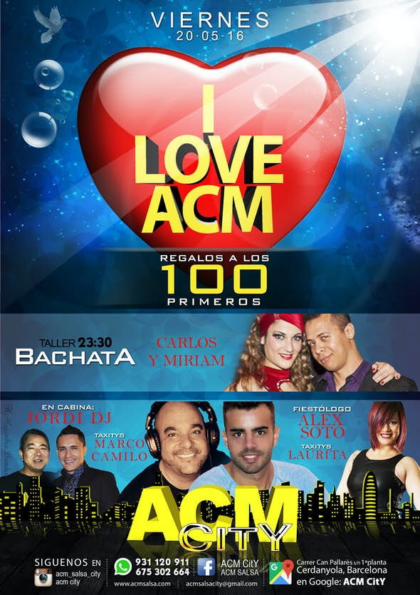 VIERNES: I LOVE ACM