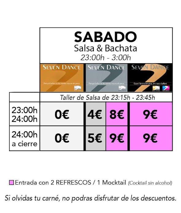 Saturday salsa & bachata at DIO Club