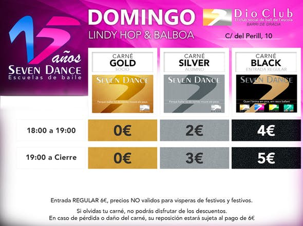 Domingos-Swing Jam Dio Club - Seven Dance