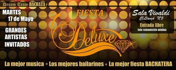 ¡ Bachata DELUXE NIGHT & Show LADIES TOUCH BARCELONA by Borboleta Zegarra !