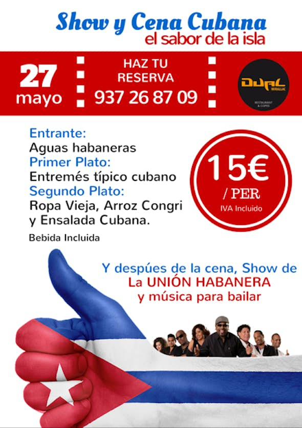 Cuban Show and dinner