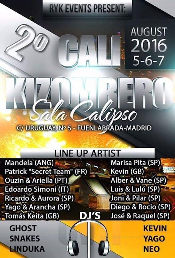 CALI Kizombero 2016 (2nd Edition)