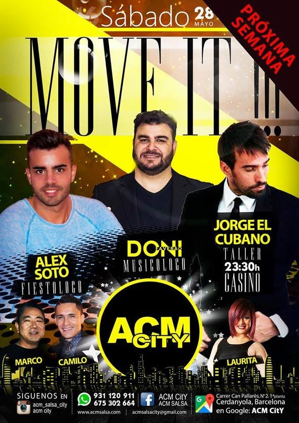 Sábado: MOVE IT