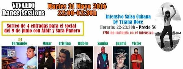 Intensive Workshop of Salsa Cubana by Triana Doce