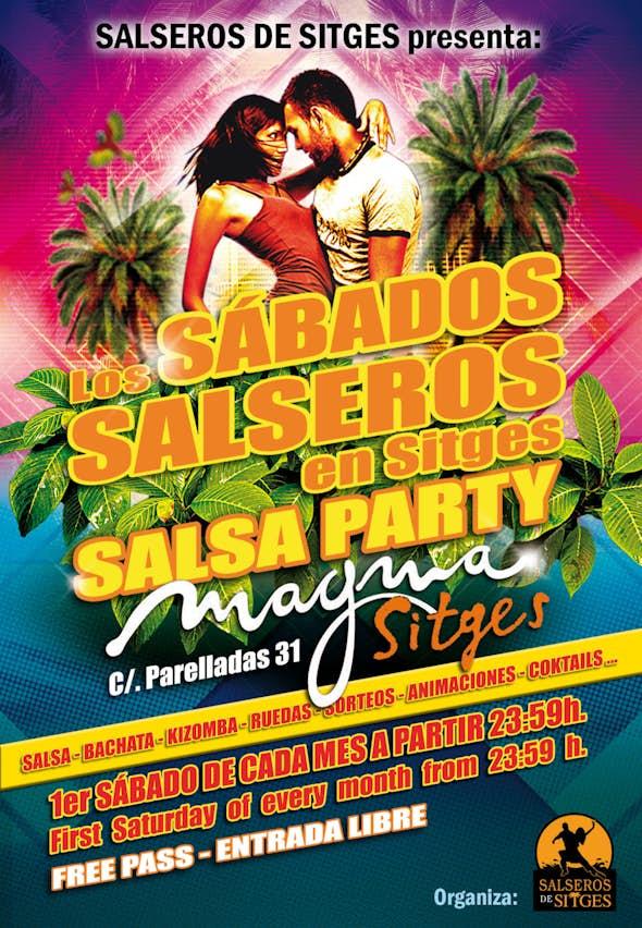 Los Sábados Salseros en Sitges