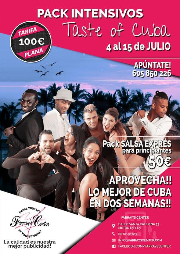 INTENSIVO ILIMITADO JULIO 'TASTE OF CUBA'