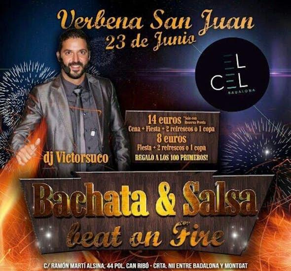 San Juan Party at El Cel Badalona
