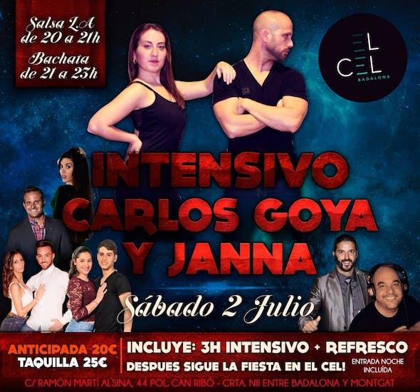 Intensivo de 3h. + fiesta con Carlos Goya y Janna