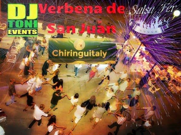 San Juan Salsa party Fer&Dj El Toni at Chiringuitaly