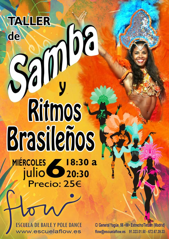 SAMBA Y RITMOS BRASILEÑOS