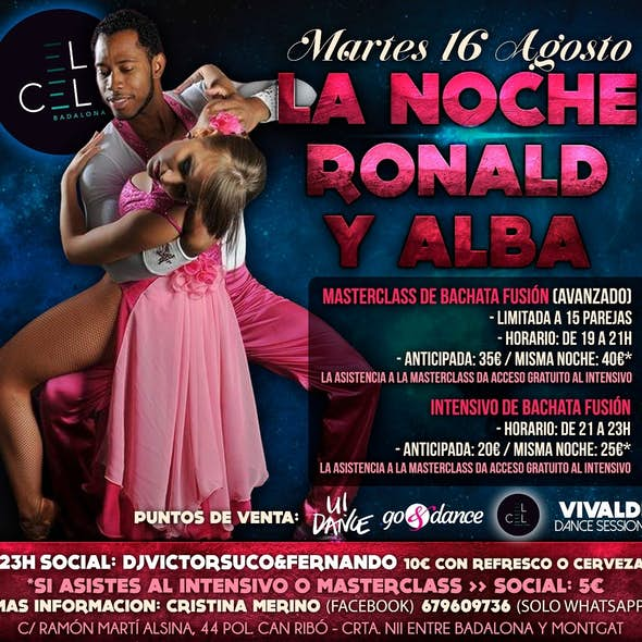 Masterclass and Intensive workshop by Ronald & Alba