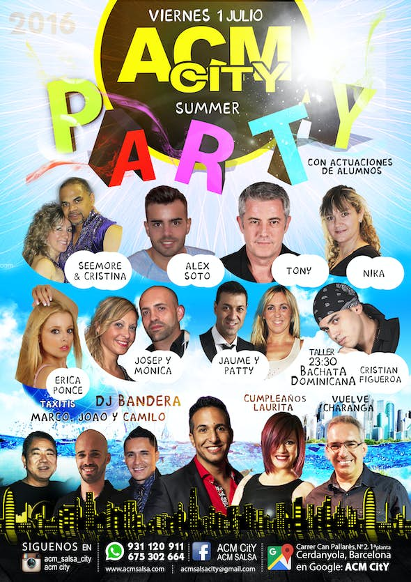 Friday: PARTY SUMMER