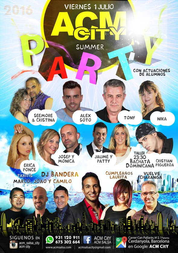 Viernes: PARTY SUMMER