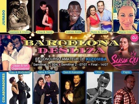 2ª Semifinal Concurso amateur de Kizomba, Barcelona Desliza