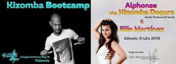 Kizomba Bootcamp Alphonse & Elia