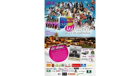Congreso de Baile Ciudad de Orihuela 2016 (1ª Edición)