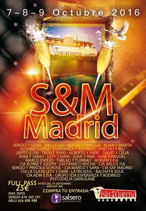 S&M Madrid 2016 (3th Edition)