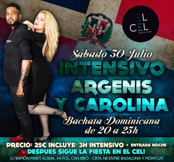 Dominican Bachata Intensive Workshop by Argenis & Carolina + Night party