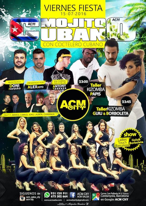 Friday 15: MOJITO CUBANO