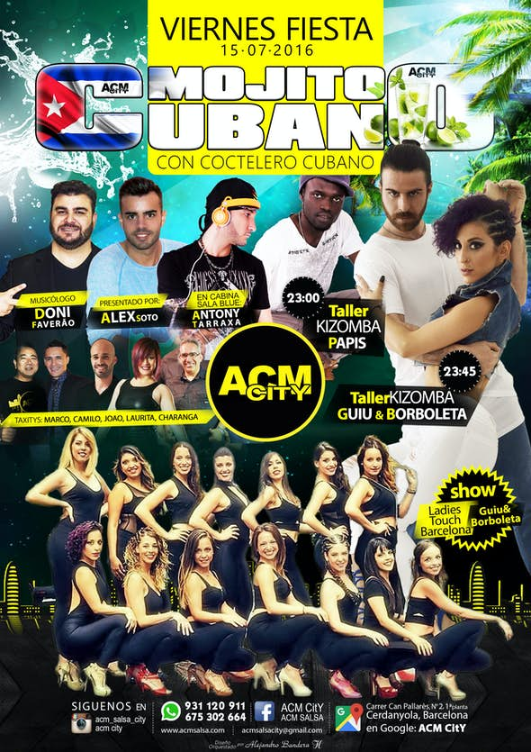 Viernes 15: MOJITO CUBANO