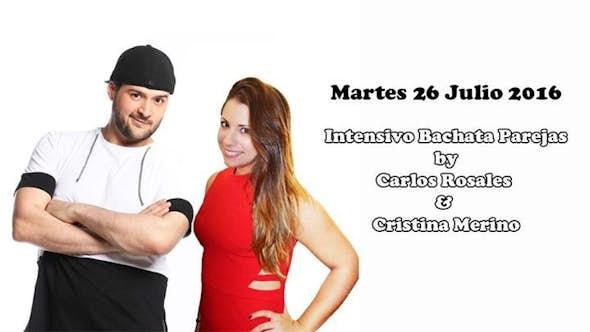 Bachata workshop by Carlos Rosales & Cristina Merino