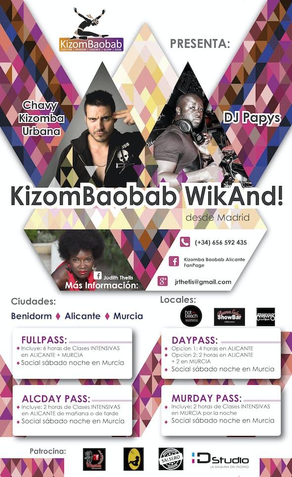 KizomBaobab WikAnd! CHAVY KIZOMBA URBANA & DJ PAPYS