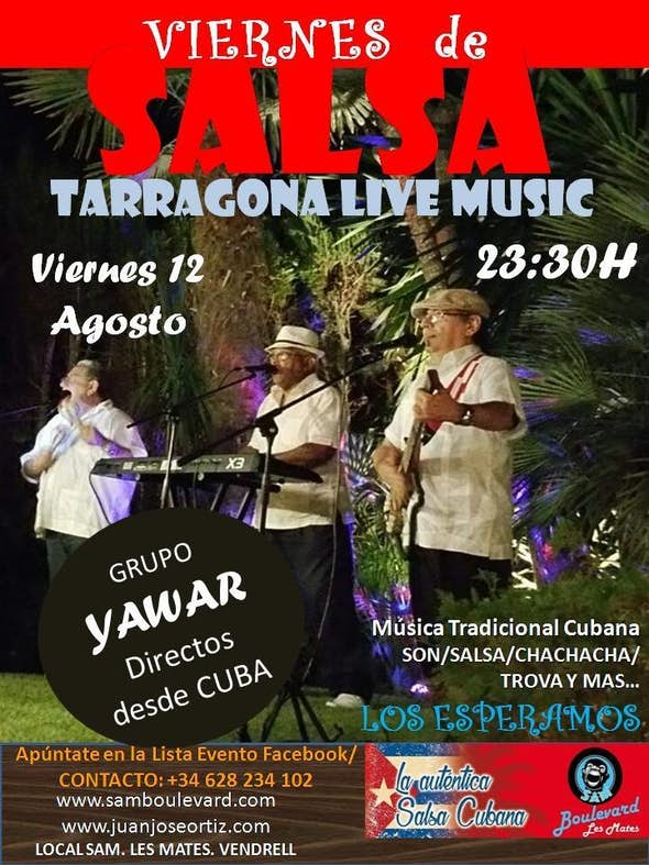 SALSA TARRAGONA LIVE MUSIC