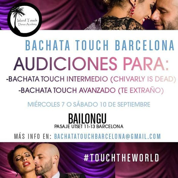 Auditions third season Bachata Touch Barcelona