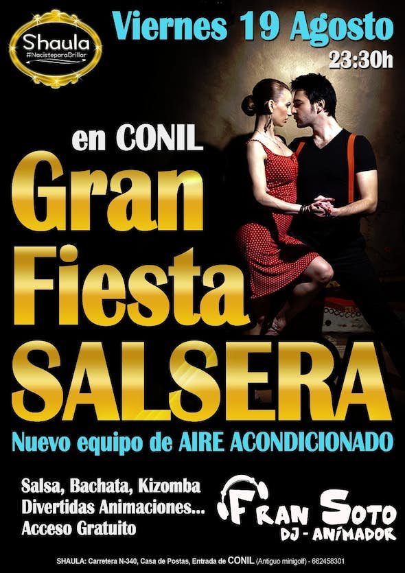 Salsa party at Conil