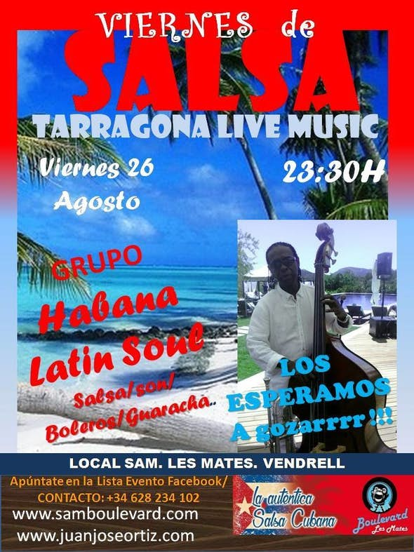 Tarragona Salsa Live Music