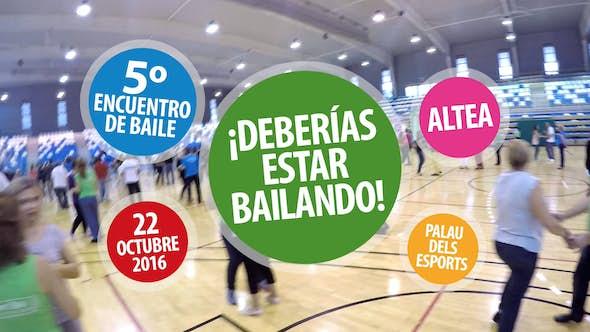 Encuentro de Baile ¡Deberías Estar Bailando! de Altea 2016 (5ª Edición)