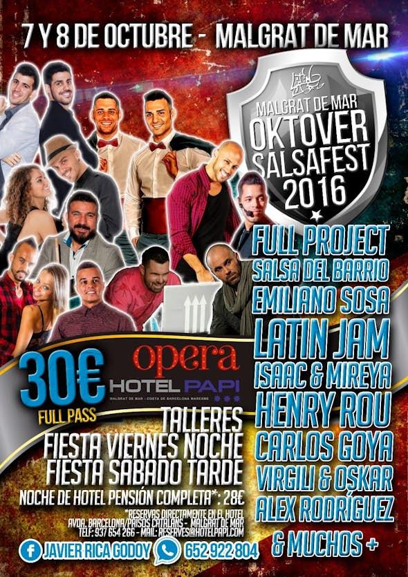 Oktover Salsa Fest 3.0. 2016