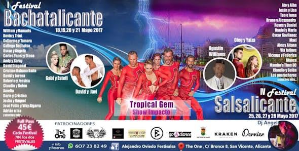 Festival Salsa Alicante 2017 (IV  Salsalicante + I Bachatalicante)