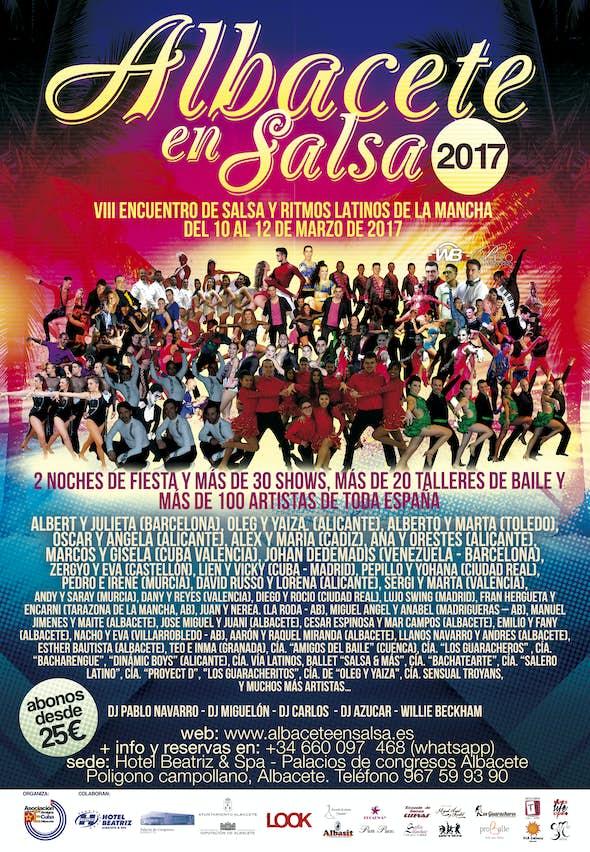 Albacete en Salsa 2017 - Encuentro Internacional de Salsa y Ritmos Latinos (8ª Edición)